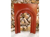 Cast iron victorian fire arch / fire place