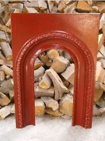 Victorian Cast iron victorian fire arch / fire place