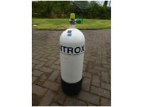 15 Litre Dive cylinder for sale Good condition but needs test