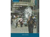 Brand new Clarkson & Keating's Criminal Law: Text and Materials Paperback 8th Edition