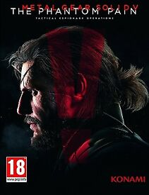 Metal Gear Phantom Pain PS4