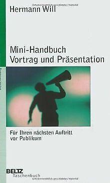 Mini-handbuch (Mini-Handbuch Vortrag und Präsentation (Beltz Tasch...   Buch   Zustand sehr gut)