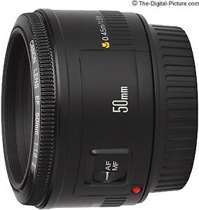 Canon EF 50mm f/1.8 II Camera Lens for sale - Like New Condition