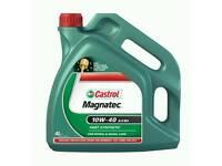 CASTROL MAGNATEC 10W40 A3/B4 PART SYNTHETIC ENGINE MOTOR OIL - 4 LITRE