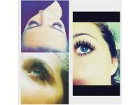 minx eyelash extensions & tinting!