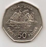 2004 50p Coin