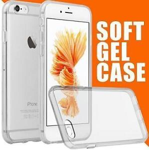 High Qualilty Transparant TPUCases [Perfect Slim Fit] Drop Protection .Slim Soft Skin Protective Cover Gel Case [Shoc
