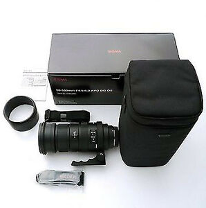 Sigma Zoom 50-500mm and Teleconverter 2x for SONY A-Mount