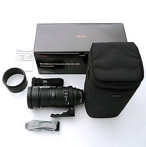 Sigma Zoom 50-500mm +Teleconverter 2x for SONY A-Mount