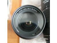 Canon efs 18-55 f3.5-5.6 II swap