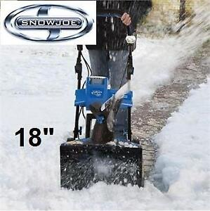 """NEW SNOW JOE 18"""" 40V SNOW BLOWER iON18SB 216001221 CORDLESS ELECTRIC RECHARGEABLE SNOWBLOWER SNOW THROWER"""
