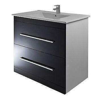 black gloss bathroom cabinet ebay
