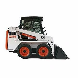S100 Bobcat for dry Hire Weekly Rate $900 Inc