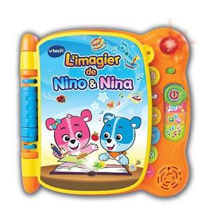 jouet bébé,livre l Imagier de Nino et Nina