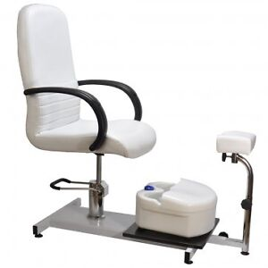 Pedicure Spa Chair Hydraulic Adjustable Beauty Equipment w/ Remo