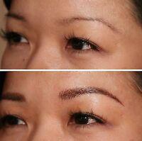 3D Maquillage permanent sourcils($120), 3D Permanent Eyebrows