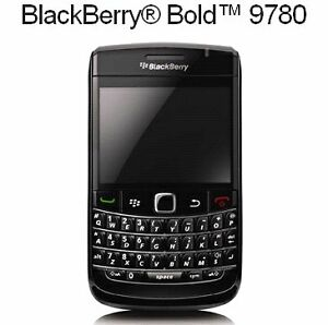 In mint condition unlocked BlackBerry bold 9780 2 pcs Available