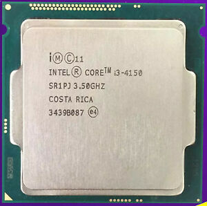 Intel i3 4150 3.5ghz, fits lga 1150 socket