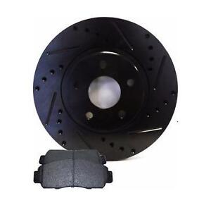 Chevrolet OE, Slotted, Cross Drilled Rotor Chevy HHR SSR Pad HD