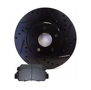 Honda Mazda 3 5 6 7 9 Nissan Toyota Slotted Cross Drilled rotor