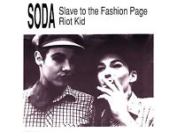 Soda - Slave to the Fashion Page - 7 Inch Collectable Vinyl - Limited Edition Britpop