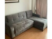 ¬¬ IMPORTED SULTAN CORNER SOFA BED WITH INSIDE STORAGE ¬¬