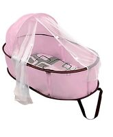 Pink Kushies Easy Fold Baby Bed