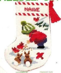 Needlepoint kit ebay needlepoint christmas stocking kits solutioingenieria Images