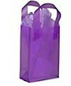 Purple Retail Bags