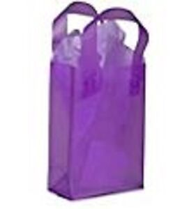 Purple craft bags