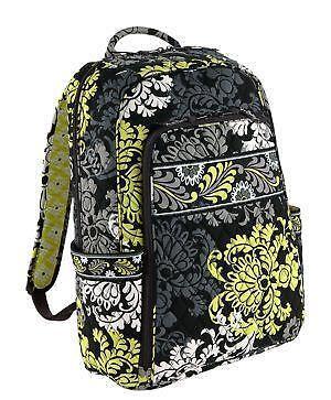 Vera Bradley Laptop Backpack Baroque Ebay