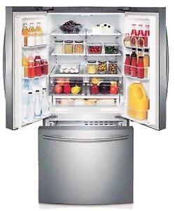 Réfrigérateur Samsung RF220NCTASR/AA/ Portes françaises à 1150$