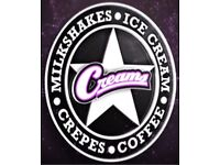 Cafe Barista at Creams FULL-TIME