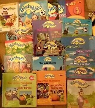 Teletubbies Books From The 90 S Early 2000 In Rubery West