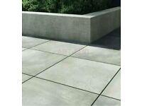 5.4 m2 Solid porcelain stoneware tiles,