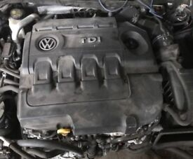 VW Engines : 2.0 Tdi VW / Golf VII GT GTD / Audi / Seat / Skoda [ 184 BHP ] CUN CUNA Engines