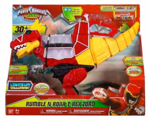 Power Rangers Dino Charge - Rumble and Roar T-Rex Zord for sale