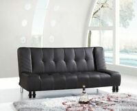 BRAND NEW SOFA BED WITH THICK CUSHIONING AND HEAVY DUTY FRAME!!!