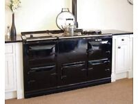4 OVEN AGA COOKER IN GAS/OIL/13amp ELECTRIC IN ANY COLOUR FULLY RECONDITIONED 5 YR GUARANTEE