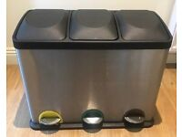 Kitchen bin (3 compartments)