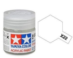 Tamiya GLOSS  Acrylic Hobby Model Paint Acrylic X22 Clear 23ml 81022