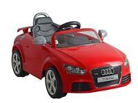 Kids ride in Audi