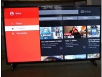 """Sharp 40"""" SMART LED TV, UNDER A YEAR OLD, LIKE BRAND NEW, DELIVERY"""