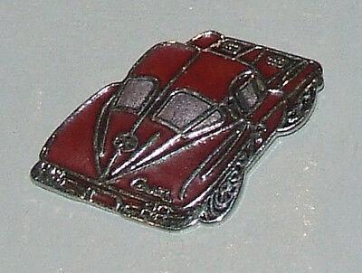 Chevrolet Corvette Stingray  Enamelled Hat Tac Lapel Pin