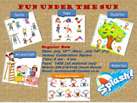 Art and craft, painting, games fun n more... summer camp
