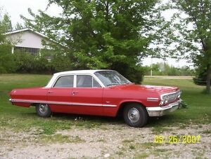 ****SOLD*****1963 Chevy Impala from Saskatchewan *SOLD*