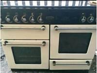 Cream rangemaster cooker