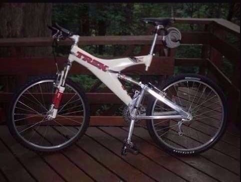 Super full-sus Trek Y-series ATB MTB bike OCLV carbon fibre FS original USA offroad susser bicycle