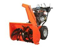 10 Year Warranty Ariens Platinum 30 SHO ONLY @ The M.A.R.S.Store City of Halifax Halifax Preview
