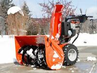 You Need Snow Clearing ?